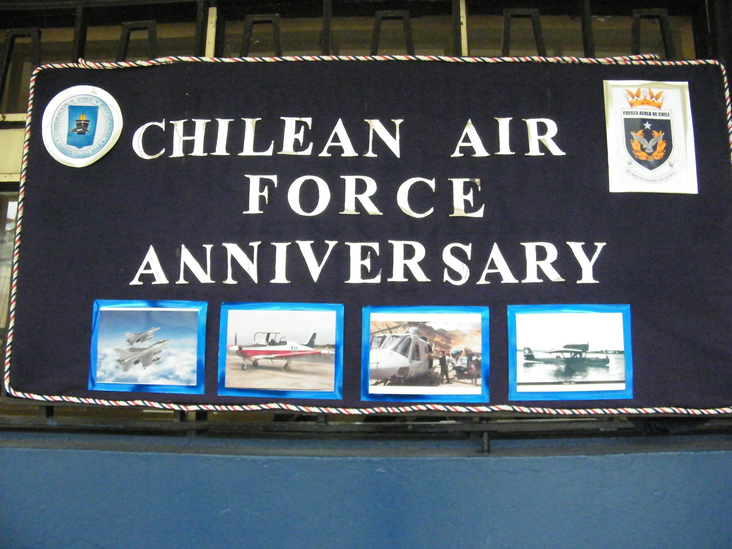 EFEMÉRIDES Aniversario Fuerza Aérea de Chile