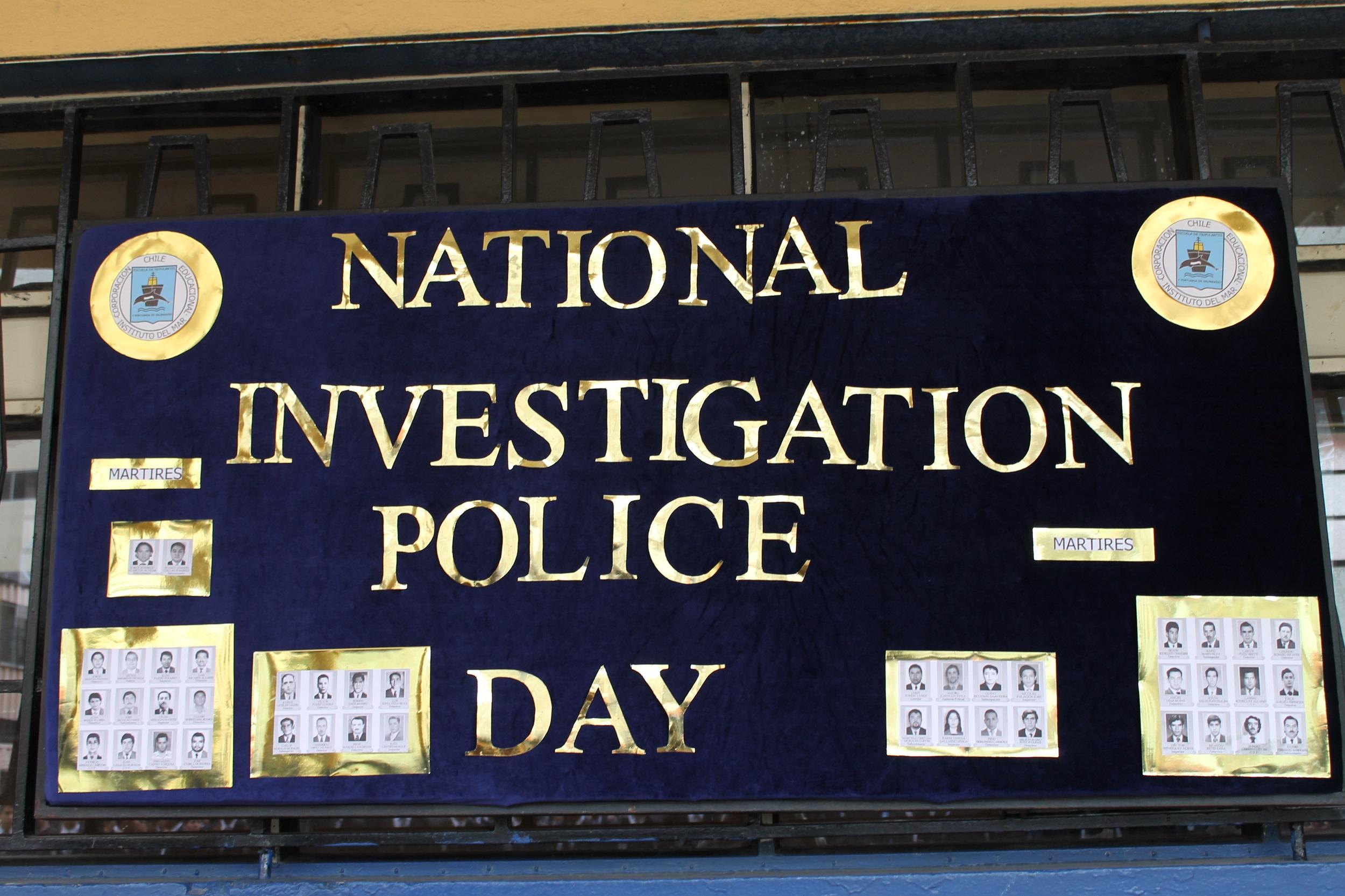 EFEMÉRIDES Día Nacional de Investigaciones de Chile