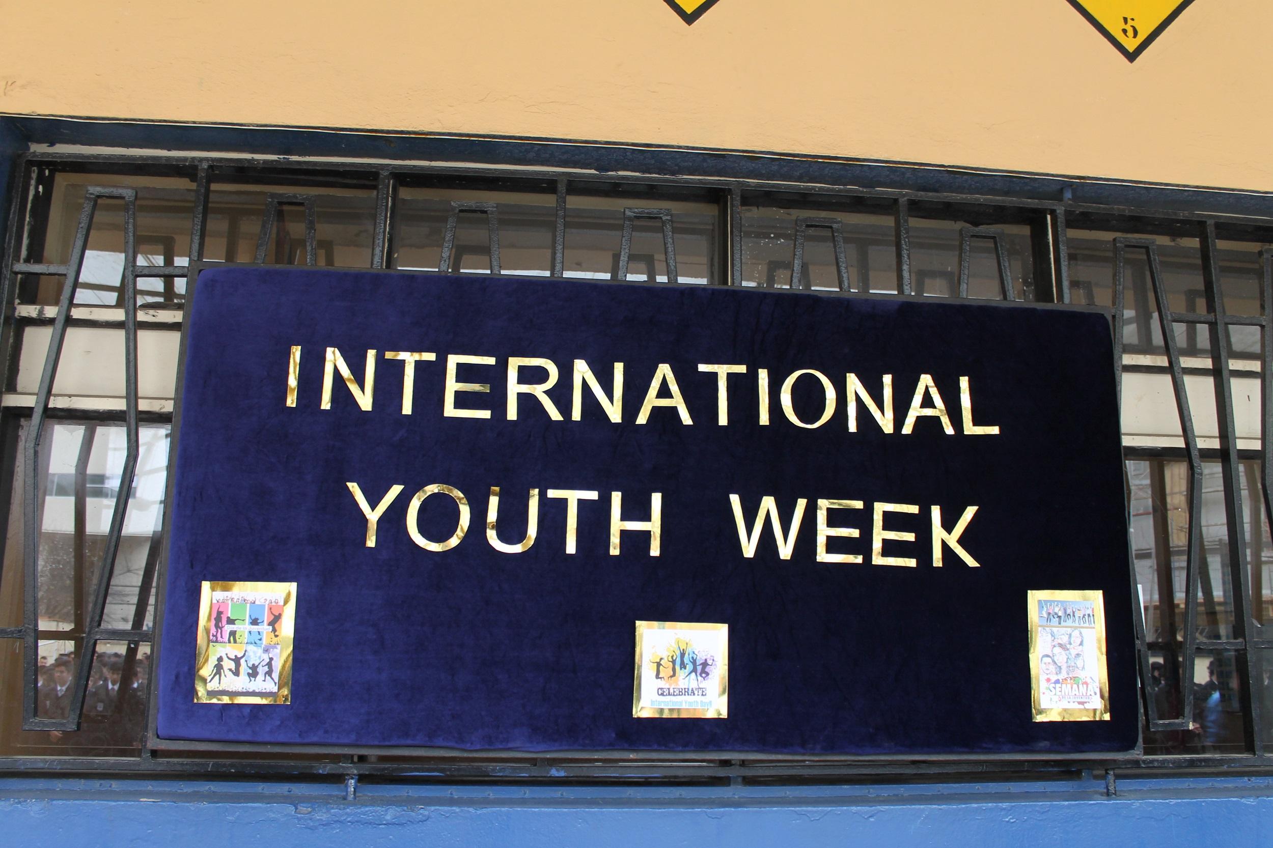 EFEMÉRIDES Día Internacional de la Juventud