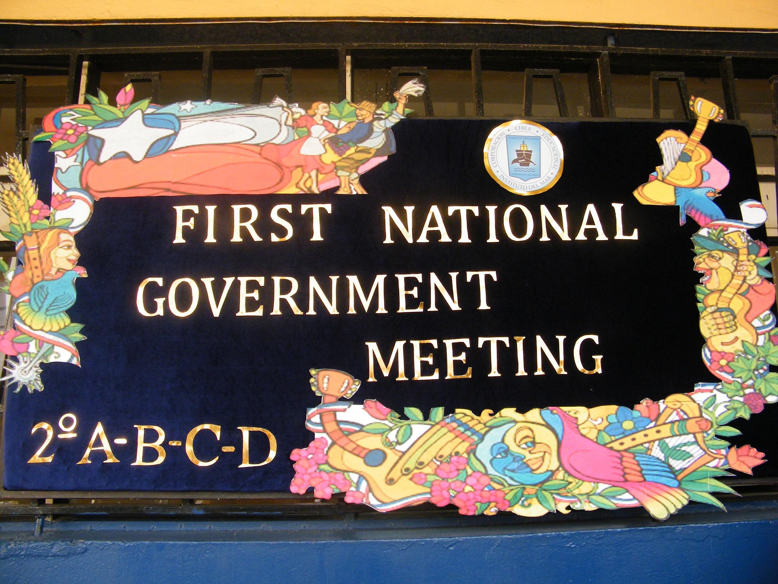 EFEMÉRIDES Primera Junta Nacional de Gobierno y Aniversario Fiestas Patrias