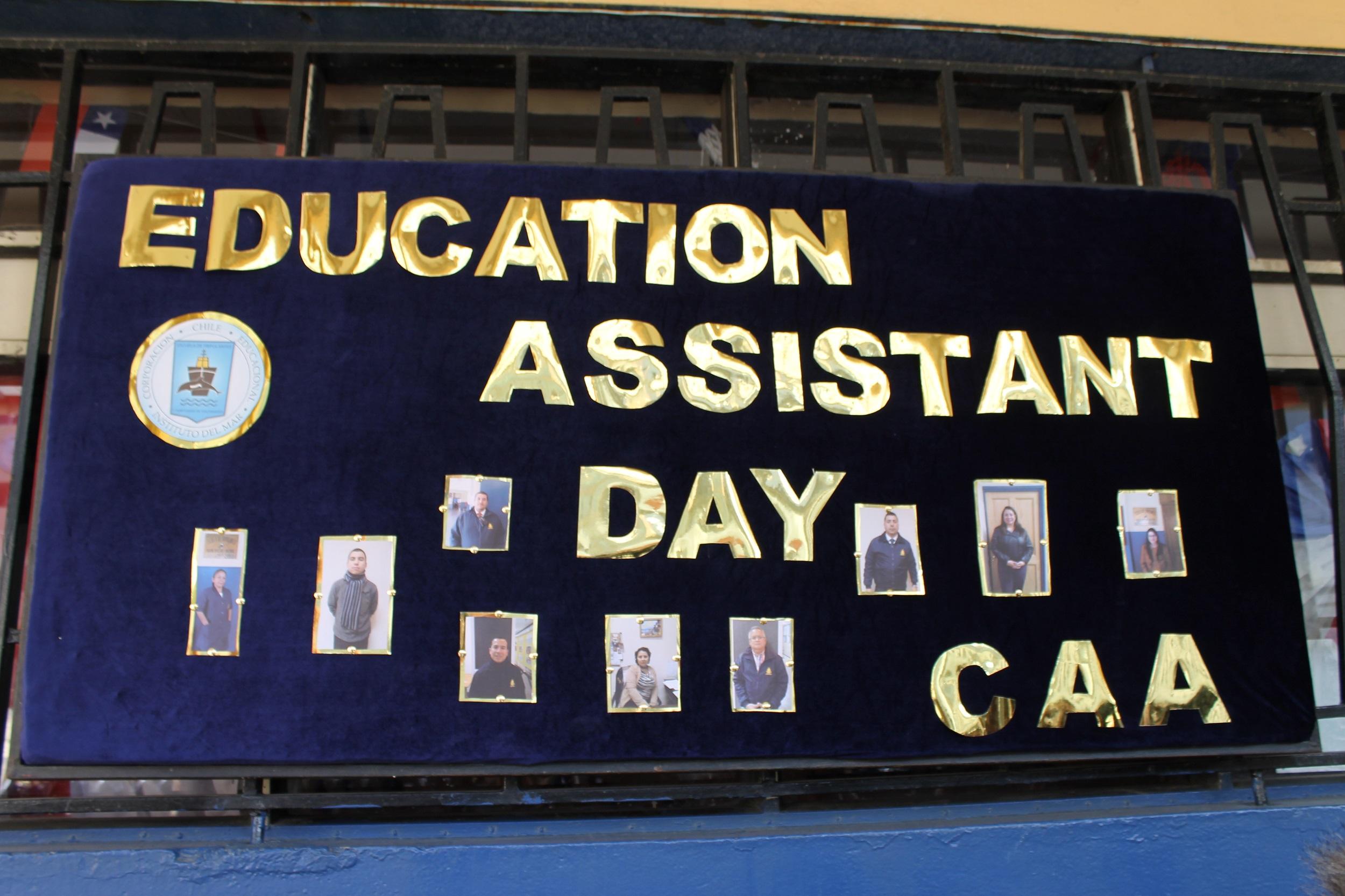 EFEMÉRIDES Día del Asistente de la Educación