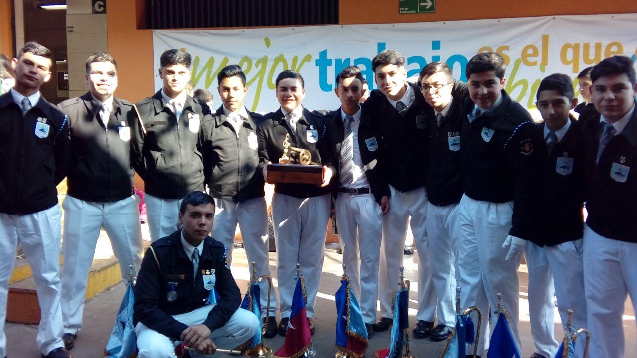 III Concurso Interregional de Bandas de Guerras Escolares