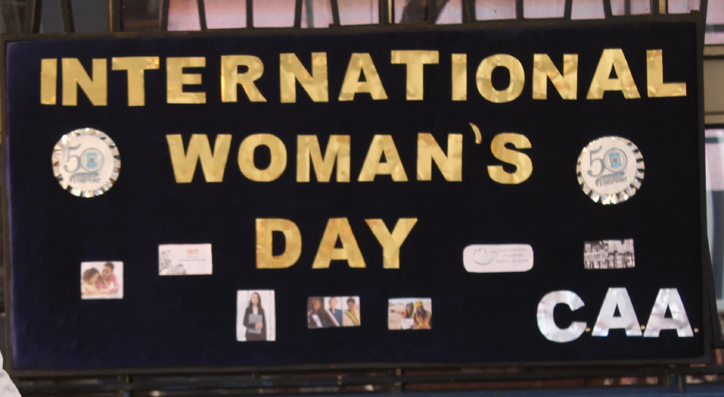 EFEMÉRIDES Día Internacional de la Mujer